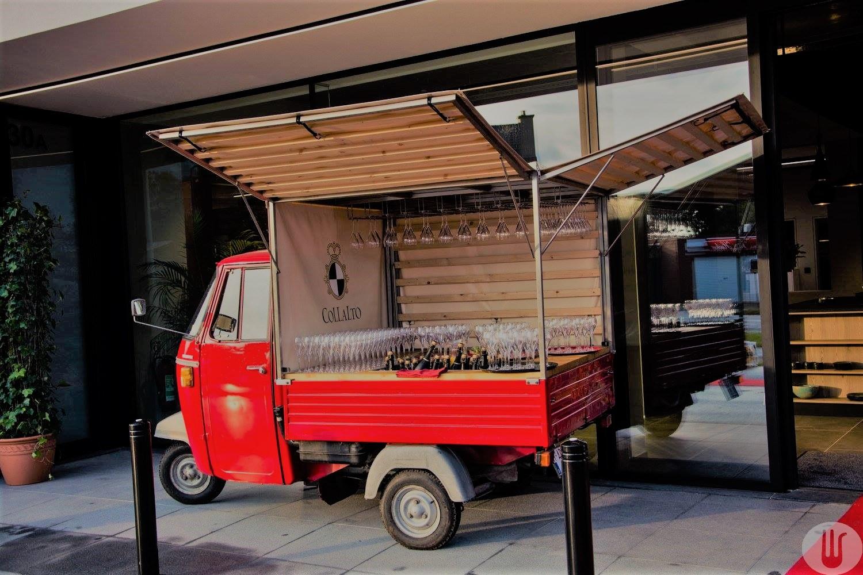 Bon Goesta mobiele bar foodtruck openingsreceptie VK Design