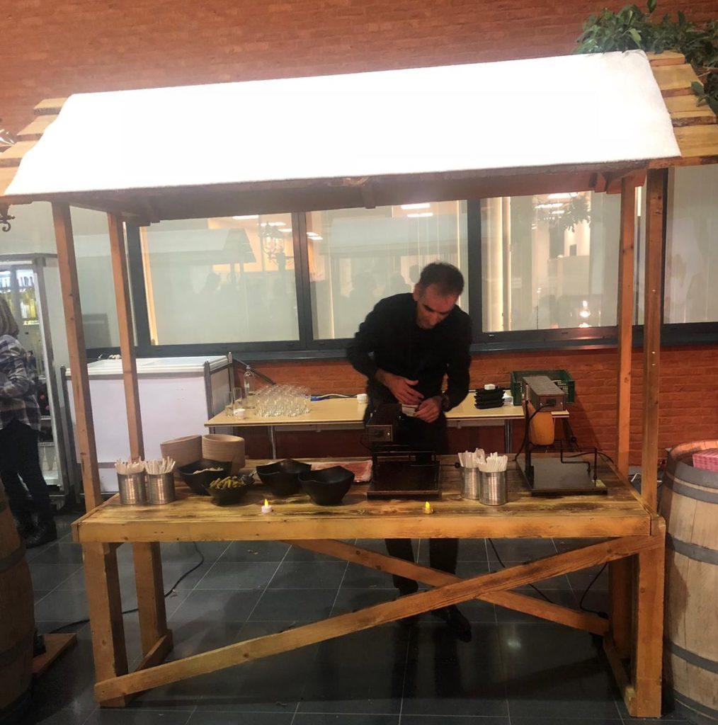Raclette après ski bedrijfsfeest cateraar Gent Oost-Vlaanderen Bon Goesta