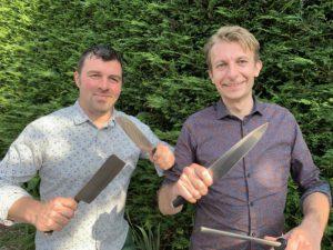 Dieter Merckx en Bart Lippens van Sint-Maurus-Hoeve