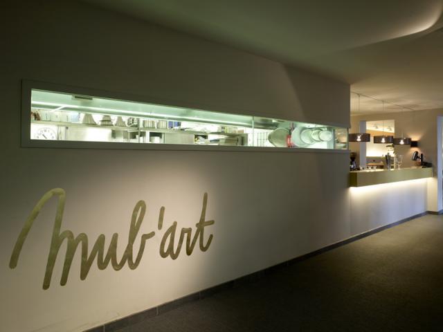 Restaurant Mub'art Gent Museum van Schone Kunst aan SMAK