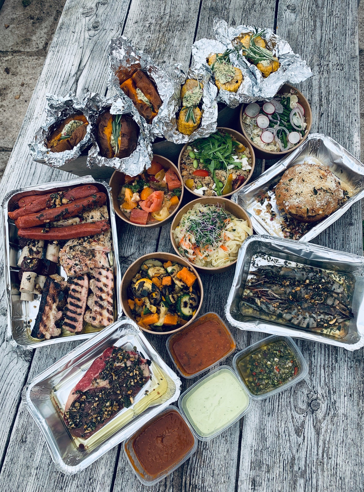 BBQ pakket Bon Goesta