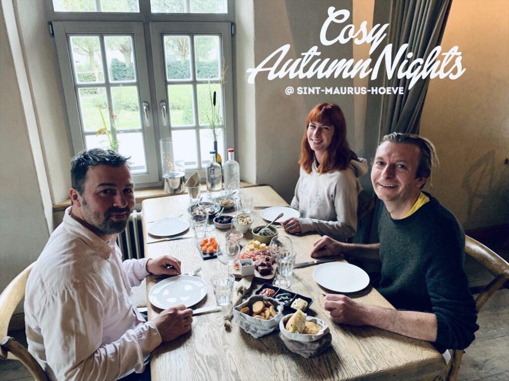 Cosy Autumn nights foodsharing Sint-Maurus-Hoeve