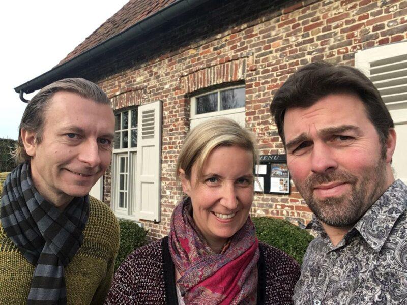 Dieter, Bart en Katrien van Bon Goesta