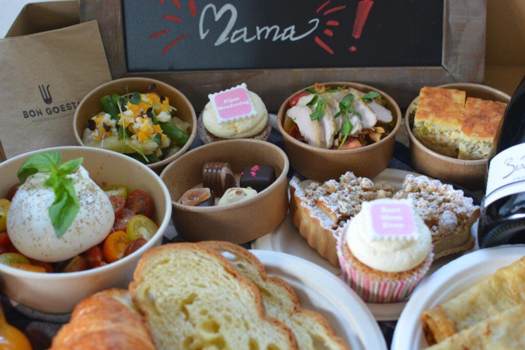 Ontbijtbox en brunchbox Moederdag